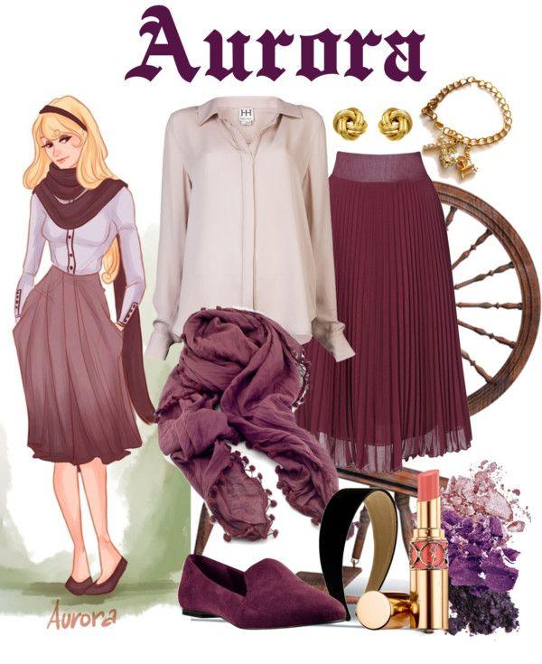 """Dressing Like A Modern Disney Princess: Aurora"" by starsapphire22 on Polyvore"