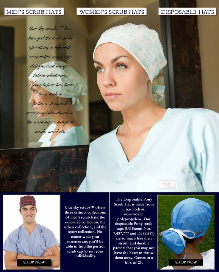 Nice selection of high quality scrub caps, I like the pixie style best