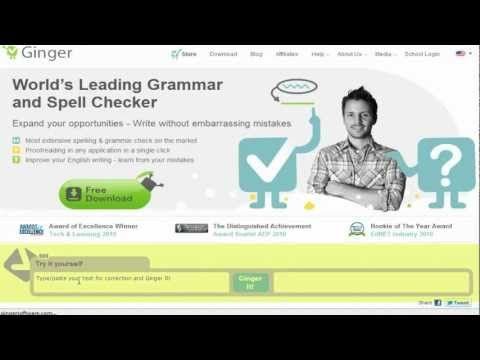 Ginger software helps with proofreading--goes beyond the basics available in MS Word.  It requires an active Internet connection to function.
