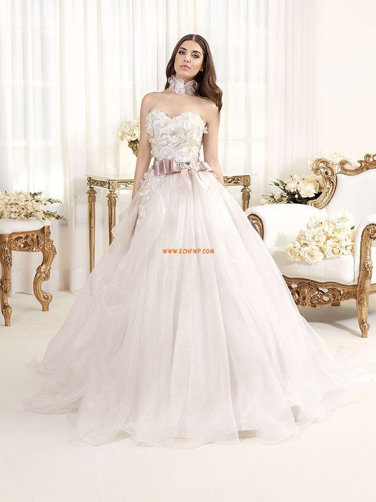 Corte Princesa Tul Primavera Vestidos de novias 2014