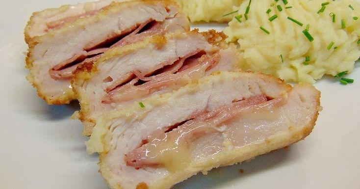 Queda de lo más sabrosa y con una jugosidad estupenda. Así describe esta receta de solomillo relleno de bacon y queso la autora de A COCINEAR.