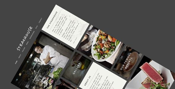 Steakhouse - Responsive Retina WP Restaurant  #themeforest