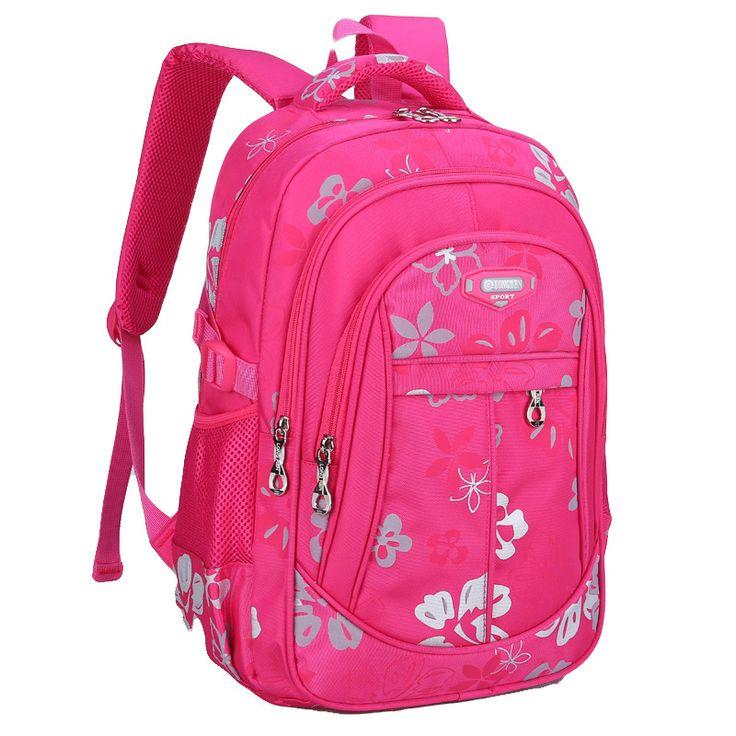 2016 Nueva de nylon Mochilas escolares para Las Ninas mochila escolar Barato Bolso de la mochila para ninos mochila de la mujer