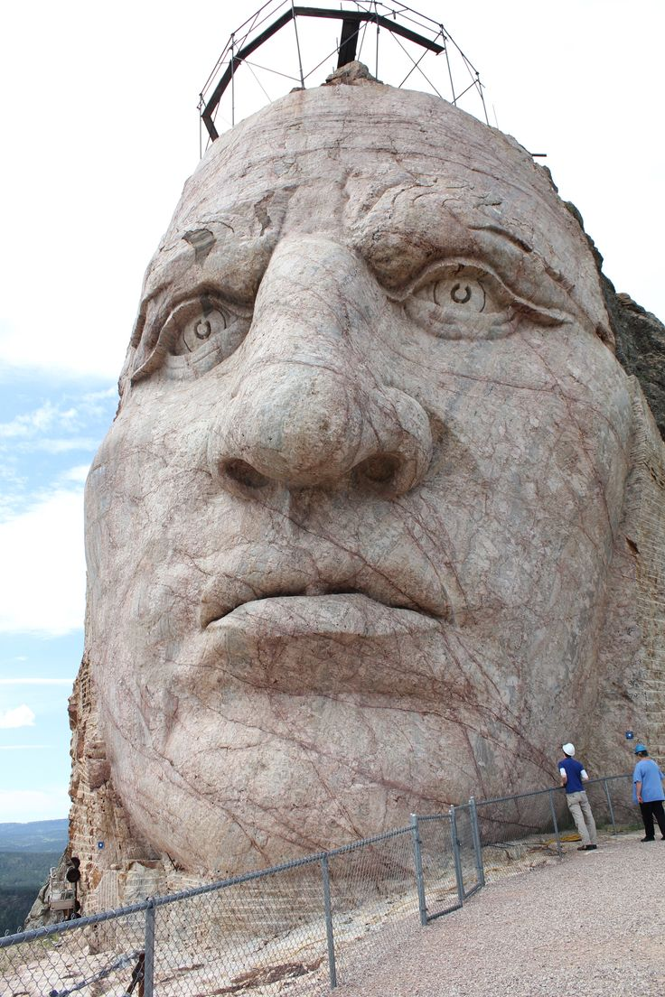 Crazy Horse Monument, South Dakota. The end of an Era.