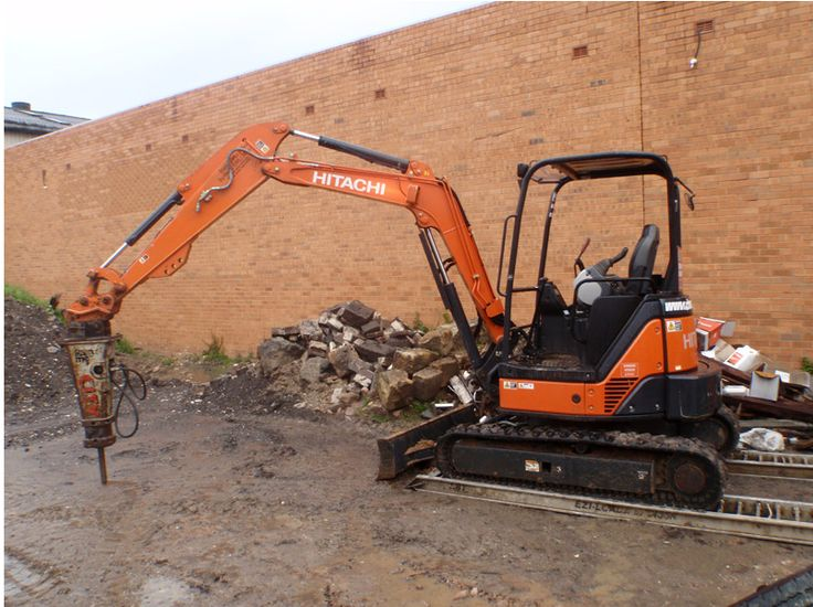 Hired Machinery's for any #Demolition & #Excavation project