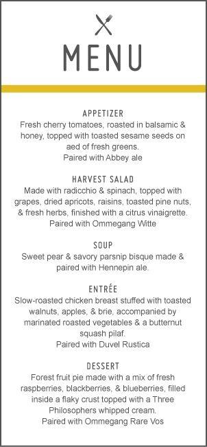 60 best Menu images on Pinterest Page layout, Restaurant menu - beer menu