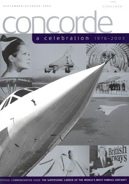 2003 - Final BA Concorde in-flight page 1