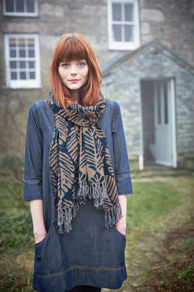 Seasalt Clothing Autumn #fashion #newseason #scarf #outfit #denim