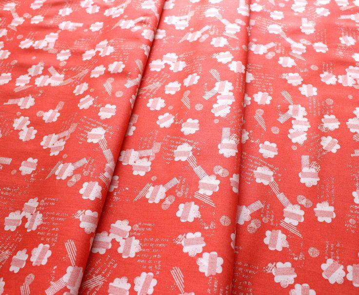 Dashwood Studio Paper Meadow PMEA 1202 Red Flowerbed