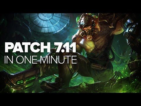 (2) League of Legends Patch 7.11 in a Minute - Rek'sai, Kindred, Malzahar & More - YouTube