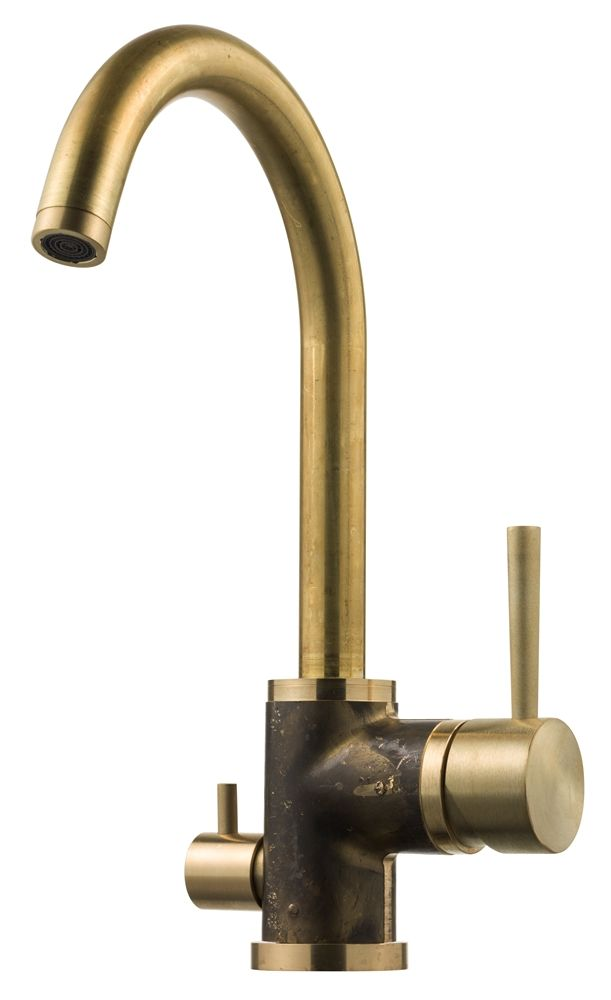 Not sure this is actually a real website, but this faucet is cool (would need sprayer). Tapwell EVO 184 Grottesco Kitchen Faucet