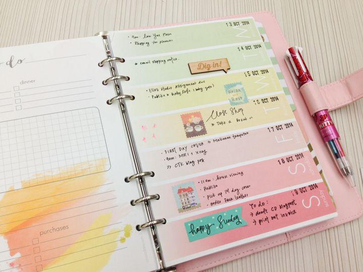 daily planner ideas - Tomburmoorddiner