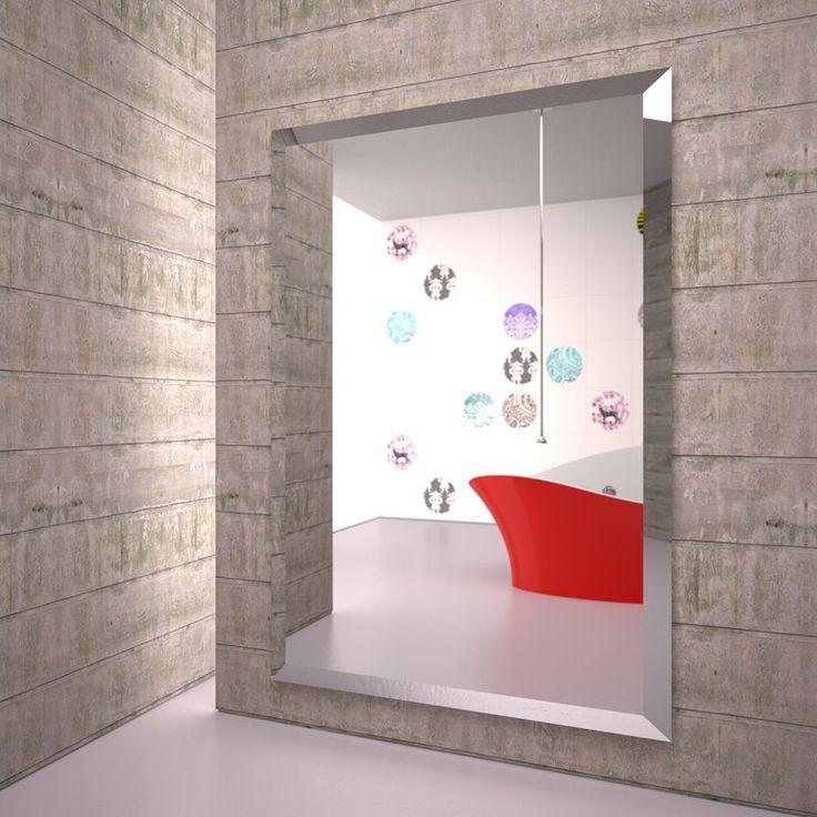 Termoarredo in alluminio estruso a specchio YANG | Termoarredo a specchio - K8 Radiatori