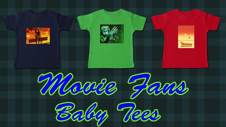 Movie Baby T-Shirts for Movies Fans #movie #tshirt #babytshirt #moviesbabytshirts #moviefans #moviegifts #babygifts #babytshirts #buybabyclothes #babyclothing #coolbabygifts #coolbabytshirt #predatorbabytshirt #madmaxbabytshirt #scifibabytshirt #giftsforbabies #babyshower #babyshowergifts #familyshopping #onlineshopping #kidstshirts #awesomegifts