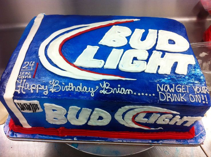 Images Of Bud Light Cakes
