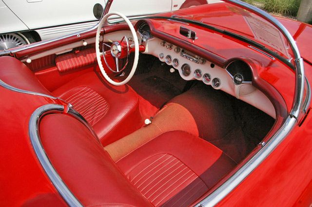 17 best images about corvette 1954 on pinterest cars chevy and classic cars. Black Bedroom Furniture Sets. Home Design Ideas