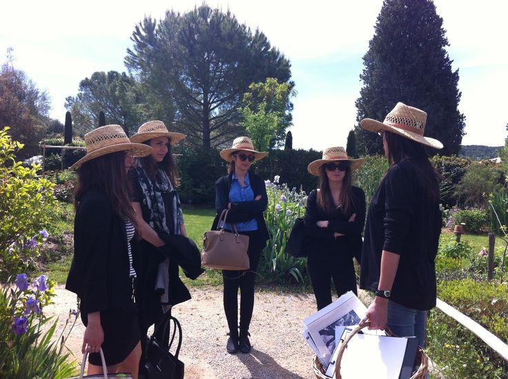 Thème : Voyage autour des fleurs et des parfums de Grasse