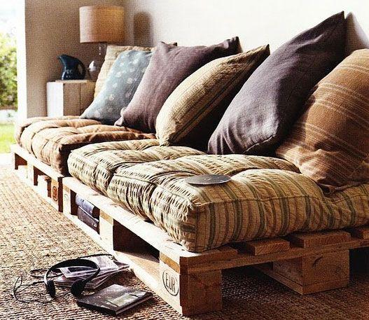Как делать мебель из паллет