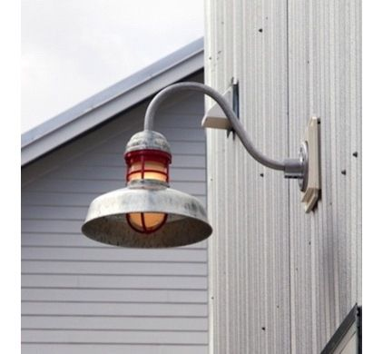 10 best barn lights images on pinterest exterior lighting outback gooseneck light industrial exterior tampa by barn light electric company workwithnaturefo
