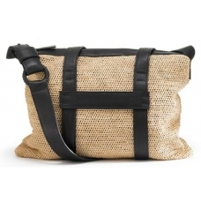 Helen Kaminski Zale Bag $449.95 - A beautifully constructed bag made from hand-crochet raffia with leather trim.