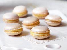 Macarons med vit choklad, vanilj och citron | Recept.nu