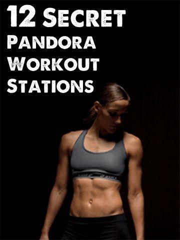 Fitness: 12 Secret Pandora Workout Stations. Who knew?!