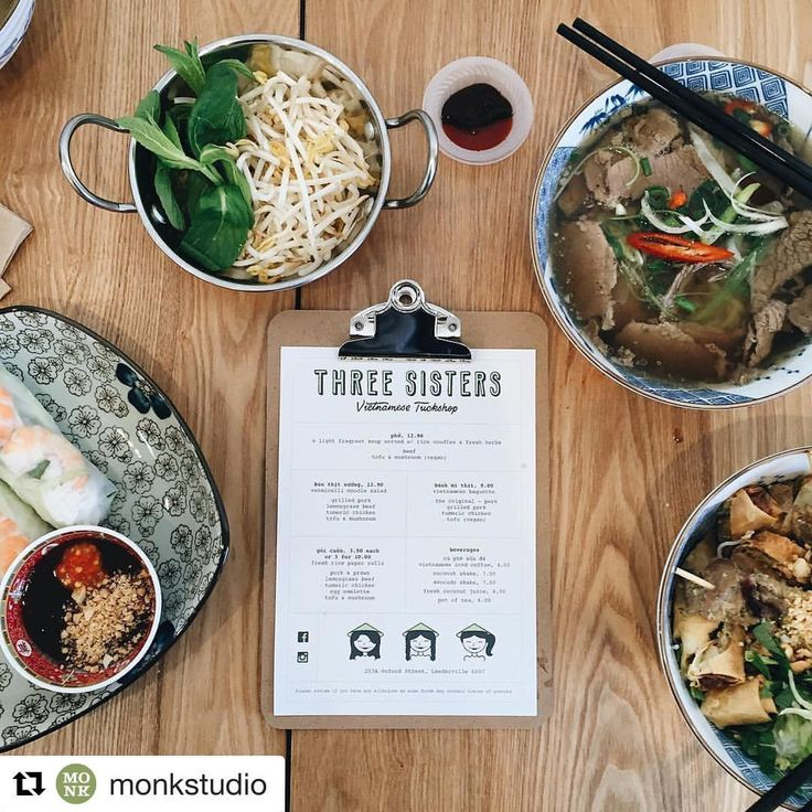 Thanks for dropping by today @monkstudio team and thank you for doing such a fabulous job with our logo! Hit them up for all your graphic design needs! #pertheats #threesistersleederville #vietnamesefood