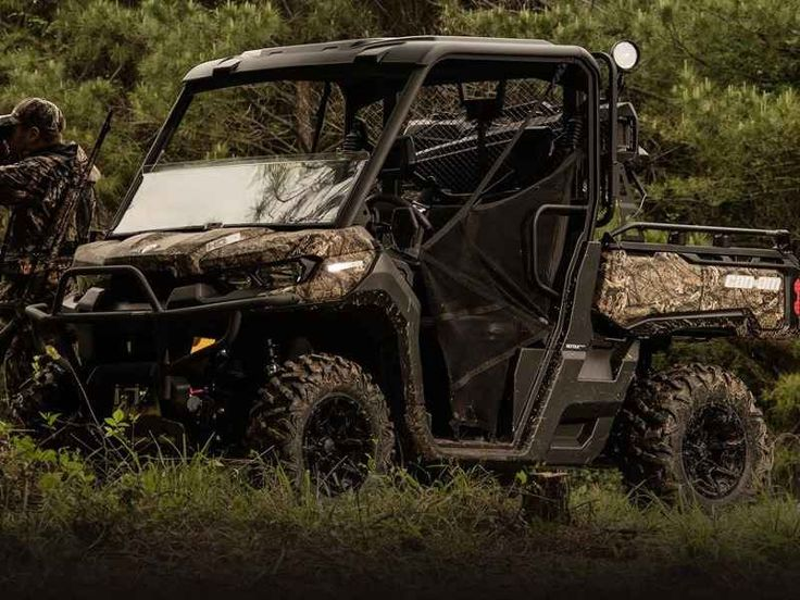 New 2017 Can-Am Defender Mossy Oak Hunting Edition HD10 ATVs For Sale in Florida. 2017 Can-Am Defender Mossy Oak Hunting Edition HD10, READY FOR THE HUNT <p>The Defender Mossy Oak Hunting Edition comes equipped with many factory-installed accessories including 27-in (68.6 cm) Maxxis Bighorn 2.0 tires mounted on 14-in (35.6 cm) wheels and Dynamic Power Steering for better handling and steering.</p><p> Features may include: </p> HEAVY-DUTY ROTAX V-TWIN ENGINE <p>The 72-hp Rotax HD10 V-Twin is…