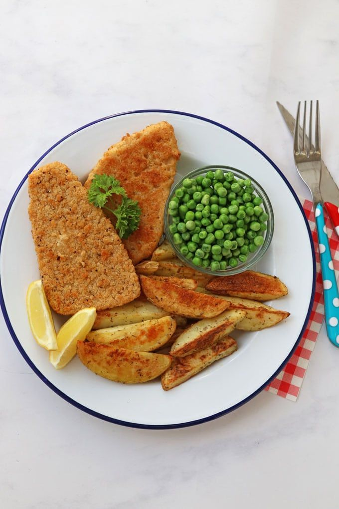 Vegan Fish Chips Recipe Vegan Fish And Chips Quorn Recipes Vegan Fish