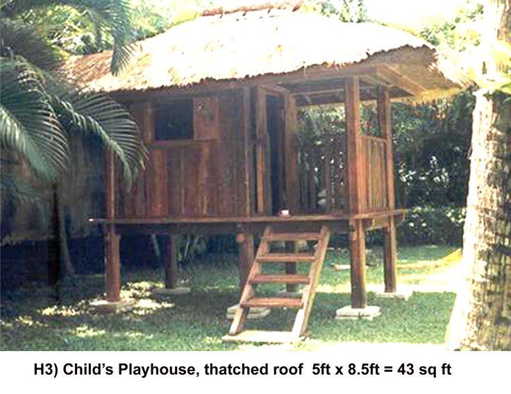 Tropical hut, Bali. Balinese. Thai. Thailand. Jungle hut. Bale. Sala. Guest house. Outdoor room.