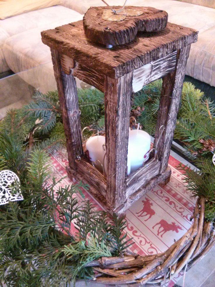 Christmas wreath - DIY Adventi koszorú