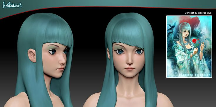 anime zbrush - Google Search
