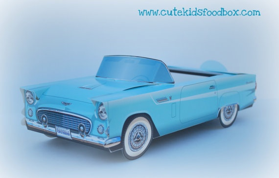 Retro Car Food Box