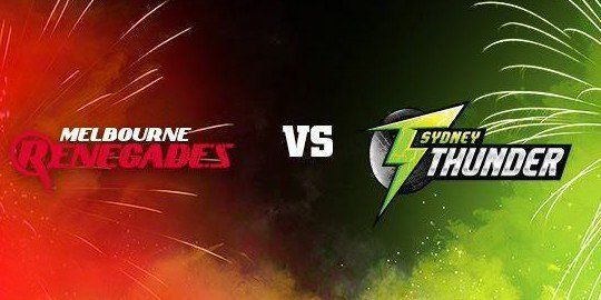 Sydney Thunder desperate to win against Melbourne Renegades after losing first one - http://www.tsmplug.com/cricket/sydney-thunder-desperate-to-win-against-melbourne-renegades-after-losing-first-one/