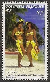 "journee mondiale on post stamp"""
