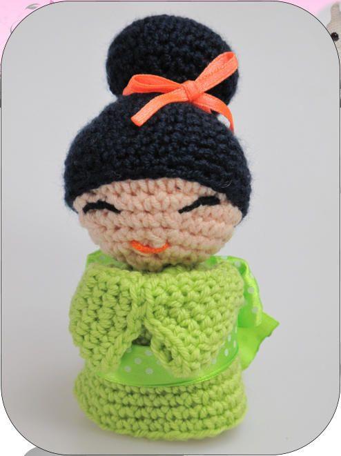 www.cudaczki.com #crochet #doll