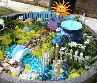how to make an enchanted garden
