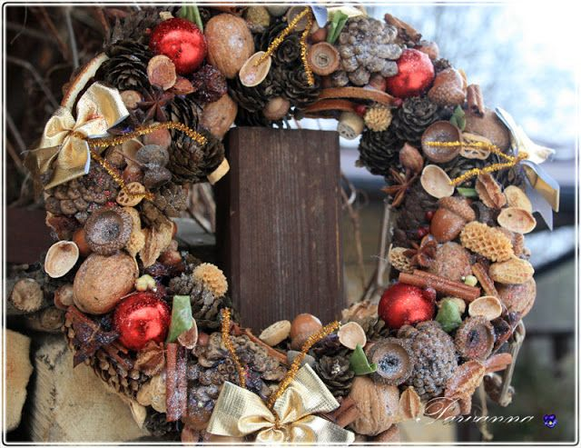 natural, Christmas wreaths
