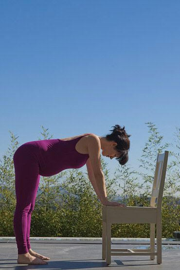 Work out for body alignment during pregnancy to help keep away aches and pains