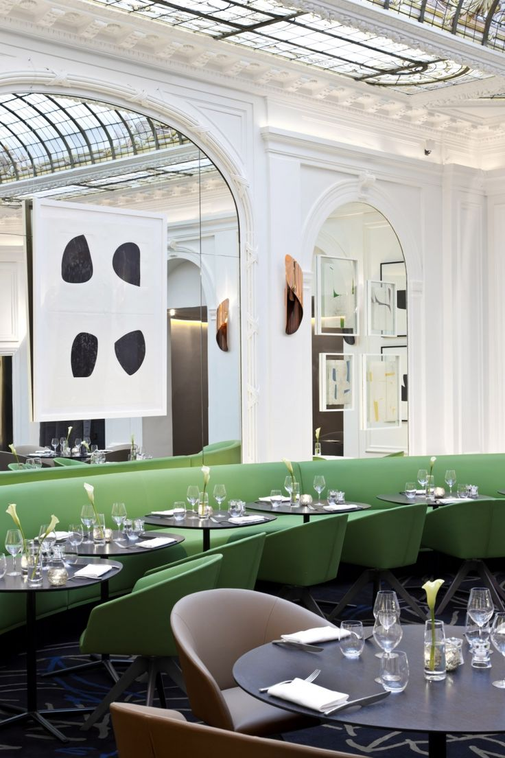 The new contemporary 'look' of Hôtel Vernet, Paris | Design Diffusion - Design Projects