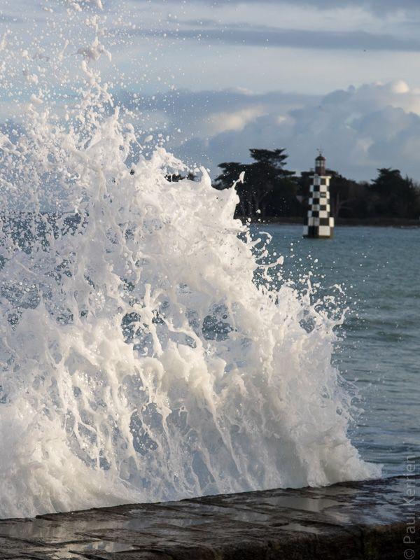 #Bretagne - #Finistere : marée haute à L'Ile-Tudy à 18 H au lendemain de la…