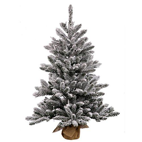Vickerman Pine Artificial Christmas Tree with 172 PVC tips 50