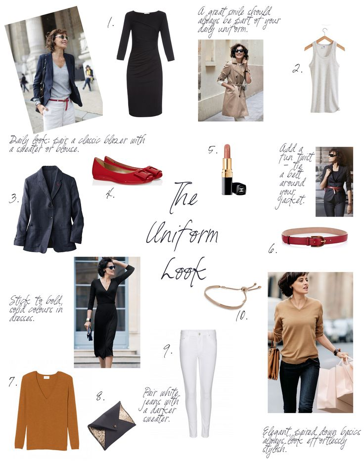 Ines de la Fressange Style Profile | Uniform Dressing | Miranda's Notebook