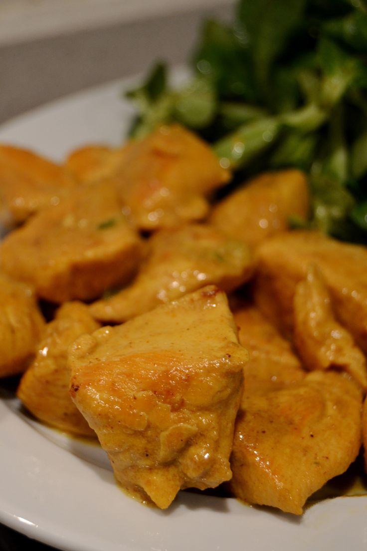 Pollo al curry curry chicken