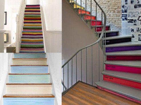 Interior Design, Beautiful Modern Interior Moroccan Staircase Design Ideas ~ Attractive Stair Designs Interior with Unique Architecture Design
