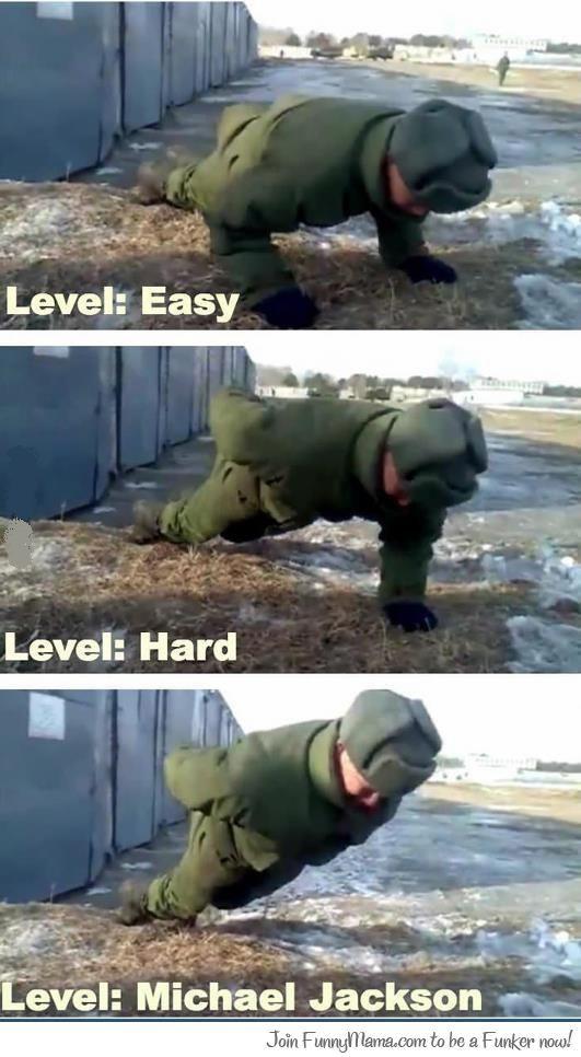 Push Up Level: Michael Jackson