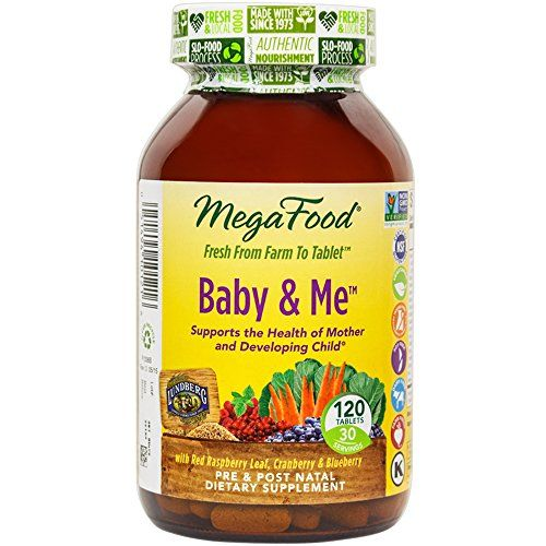 MegaFood - Baby and Me, Prenatal and Postnatal Support for Mother and Baby, 120 Tablets (FFP) * Be sure to check out this awesome product.