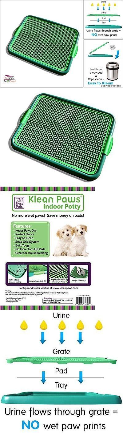 House Training Pads 146243: Dog Puppy Training Pad Tray Holder Indoor Pee Potty Pet Cat Floor Protection New BUY IT NOW ONLY: $36.26