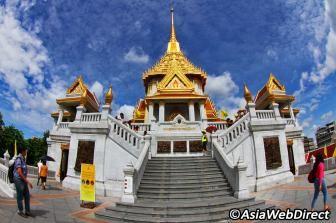Wat Traimit in Bangkok - Temple of Golden Buddha