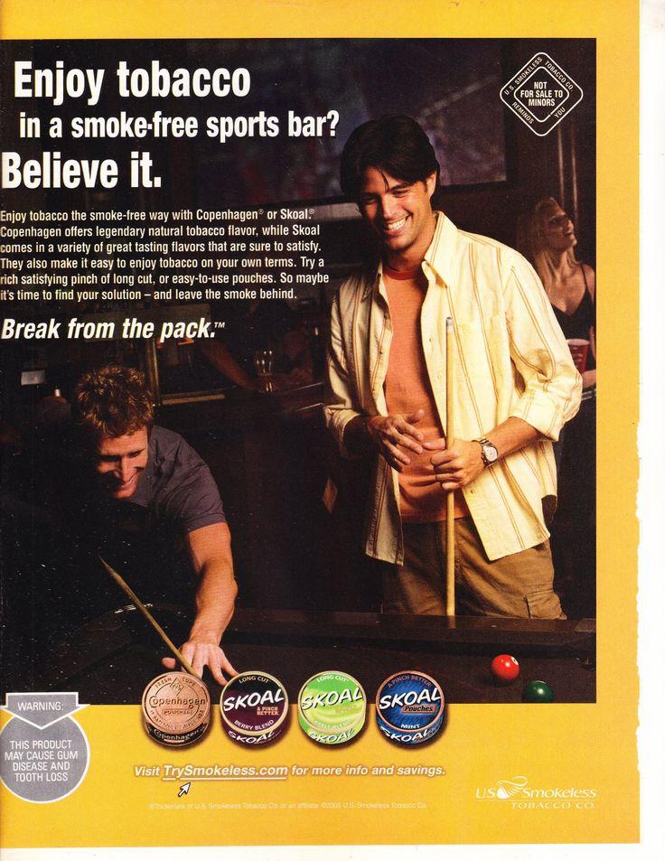 Skoal+Tobacco+Magazine+Advertisement